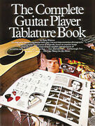 Complete Guitar Player Tablature Book Right And Left Hand Chords Sheet Music