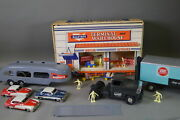 Marx Allstate Terminal Warehouse Play Set With Car And Truck