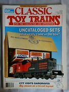 Classic Toy Trains Magazine-april 1992-uncataloged Sets-what Came In The Box