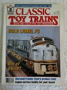 Classic Toy Trains Magazine-march 1994-lionel Streamlined Passenger Sets 1955-58