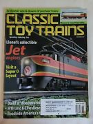 Classic Toy Trains Magazine-november 2001-lionel's Collectible Jet Engines