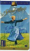 Julie Andrews The Sound Of Music Signed Vhs Coa