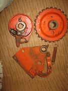 Case 220 Square Baler Knotter Gear Trip Assembly And Misc.