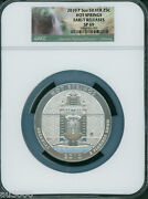 2010-p Hot Springs America Beautiful Atb 5 Oz. Silver Ngc Sp69 Early Releases Er