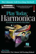 Play Harmonica Today Complete Kit Learn Harp Lessons How To Book Cd Dvd Pack