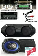 1967-1968 Cadillac Radio + Stereo Dash Replacement Speaker + 6x9and039s 230
