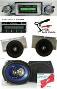 1974-79 Cadillac Radio + Stereo Dash Replacement Speaker + 6x9and039s 230