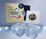 2019 1 Alphabet T Thongs Unc Coin In Pocket Limited Great Aussie Coin Hunt