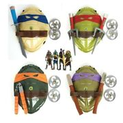 Anime Movie Ninja Turtle Armor Toy Weapons Figure Cosplay Shell Props Kids Gifts