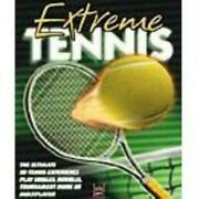 Extreme Tennis Pc Cd Realistic Mixed Singles Doubles Sports Tournament Ball Game