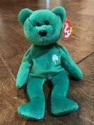 Mint Condition - Ty Beanie Baby Erin - 1997 - With Rare Errors