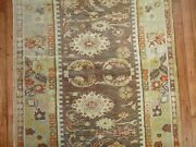 Antique Turkish Ghiordes Oushak Ushak Rug Size 3and0393and039and039x5and0399and039and039