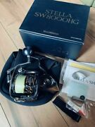 Shimano 13 Stella Sw8000hg Fishing Reel Excellent Free Shipping