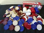 Poker Chip Lot Hoyle Knob Creek Bicycle Brands 346 Game Chips
