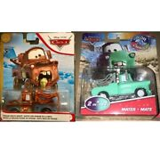 Disney Pixar Cars Color Changers 2 In 1 Mater And Wasabi Mouth Mater Set 2 Lot Set