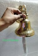 Brass Bell Hanging Nautical Vintage Outdoor Home Church Ships