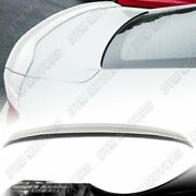 For 16-20 Chevy Camaro Factory Sty 3-piece Painted White Abs Rear Trunk Spoiler