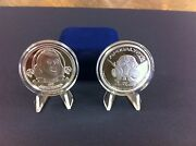 1 Oz Silver Proof Like Round Coin Bullion Ben Franklin Zombie Series Edition