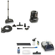 Rainbow E Series E2 Black Vacuum Cleaner With Prolux Shampoo Kit - Reconditioned