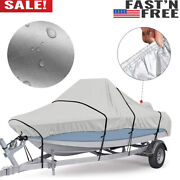 Boat Cover Yacht Outdoor Protection Waterproof Heavy Duty Silver Reflective I7p1