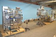 2007 Capmatic 60 Cpm Nasal Spray Filling Line - Stainless Steel Construction