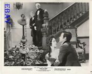 House Of Usher Vincent Price Watches Mark Damon W/woman Vintage Photo