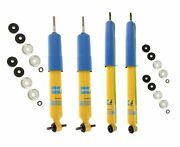 Bilstein B6 4600 Front And Rear Shocks Kit For Ford Rwd Rear Lifted Height 0-1