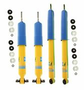 Bilstein B6 4600 Front And Rear Shocks Kit For Ford F-150 Rear Lifted Height 0-1