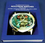 Andldquocomplete Guide To Bulova Accutron Watches Hardbound Book 530 Pages 1100 Idand039d