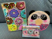 Justice Donut Scented Puzzle Erasers/journal /panda Change Purse Super Cute