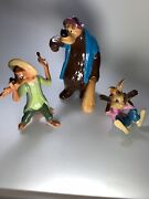 Splash Mountain Porcelain Figurines Disney Song Of The South