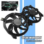 Radiator And Condenser Cooling Fan For 2013-2019 Nissan Pathfinder Infiniti Qx60