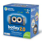 Learning Resources Botley 2.0 Coding Robot Activity Set 78 Piece Educational Toy