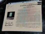 Authentic Atocha Investor Emerald Certificate Certificate Only