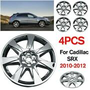 4x 20and039and039 Hub Caps For Cadillac Srx Full Wheel Cover Hubcaps Rim Cover 2010-2012