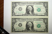 2-1969a 1 Frns Consecutive Serial Numbers Grade Cu Snb99035524/5c