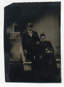 Photographerand039s Tent With Photography Gallery Sign Tintype Found Berks Co. Pa.