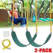2x Heavy Duty Outdoor Swing Seat Set Accessories Replacement Swings Chains Gyms