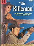 1959 Dell Comics The Rifleman 1 Chuck Conners Johnny Crawford Vf 8.0