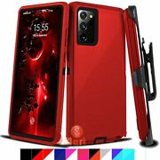 For Samsung Galaxy Note 20/ 20 Ultra Case Cover Belt Clip Fit Otterbox Defender