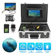 7in Tft Lcd 800tvl Underwater Dvr Video Camera 20leds Night View 360° Waterproof
