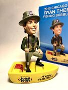 Ryan Theriot Fishing Bobblehead 2010 Chicago Cubs