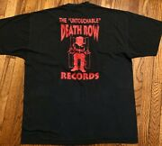 1997 Gang Related Death Row Records Vtg 90s 2pac Rap Hip Hop Promo T-shirt Movie