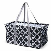 Wireframe Utility All Purpose Tote Bag For Shopping Picnicking Travel Laundry