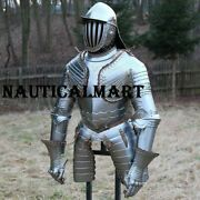 Medieval Armor Suit Polish Hussar Knight Armor Costumes Wearable