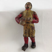 Ca. 1904-1923 Iron Center Figure Only With Ball For Calamity Mechanical Bank