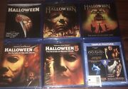 Halloween Complete Collection Blu Ray 1-8 New 2,3,4,5, Curse, H20, Resurrection