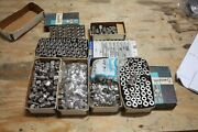 Large Lot Of Stainless Steel Ss Swagelok Tube Fittings And Ferrules 3/16