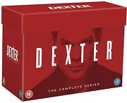 Dexter Complete Series Season 1 2 3 4 5 6 7 8 Boxset 33 Discs R4 New And Sealed