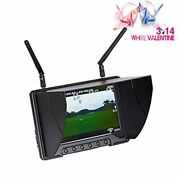 Flysight Black Pearl Rc801 Fpv Monitor With Dvr 5.8ghz 40ch 7 Hd Screen Divers